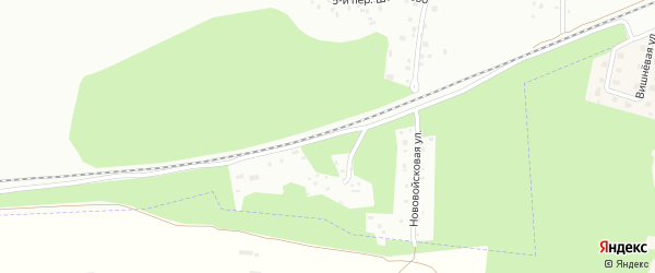 Переулок 6-й Шабаново на карте Пскова с номерами домов