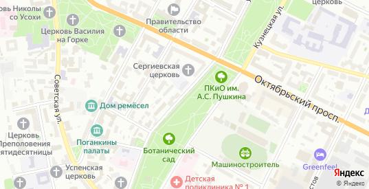 Улица Свердлова в Пскове