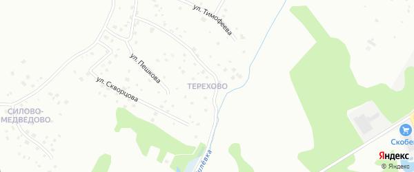 Деревня Терехово на карте Пскова с номерами домов