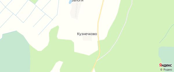 Карта деревни Кузнечково в Псковской области с улицами и номерами домов