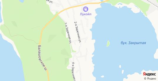 Карта поселка СТ Зеленая горка в Выборге с улицами, домами и почтовыми отделениями со спутника онлайн
