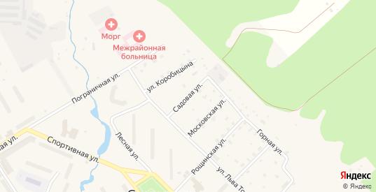 Садовая улица в Светогорске с номерами домов на карте. Спутник и схема онлайн