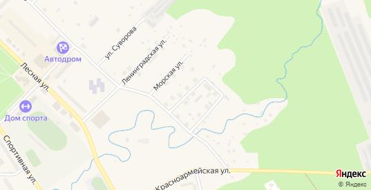 Улица Красных Партизан в Светогорске с номерами домов на карте. Спутник и схема онлайн