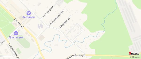 Улица Красных Партизан на карте Светогорска с номерами домов