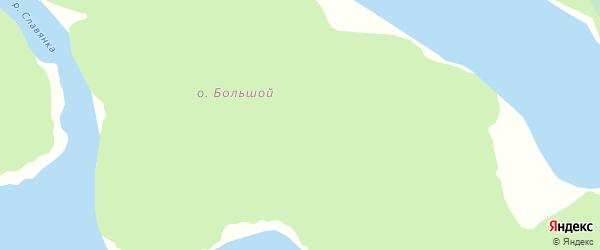 Большой Надеждинский проезд на карте Гавриловской территории Ленинградской области с номерами домов