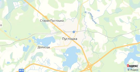 Карта Пустошки с улицами и домами подробная. Показать со спутника номера домов онлайн