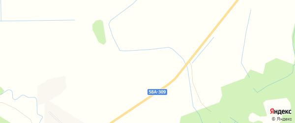 Карта деревни Феклистово в Псковской области с улицами и номерами домов