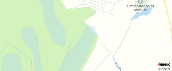 Территория ДНП Греческое на карте Волосовского района Ленинградской области с номерами домов