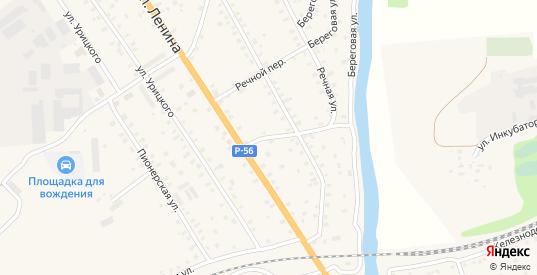 Крестьянский переулок в Порхове с номерами домов на карте. Спутник и схема онлайн