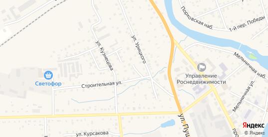 Строительный переулок в Порхове с номерами домов на карте. Спутник и схема онлайн