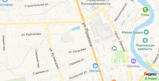 Дорожный переулок в Порхове с номерами домов на карте. Спутник и схема онлайн