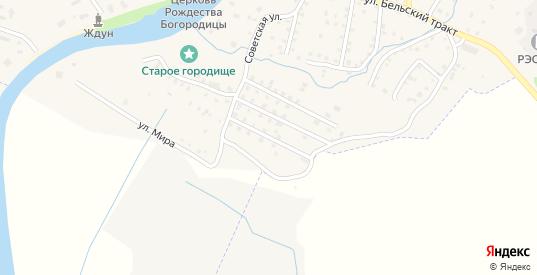 Полякова Мызы 3-й переулок в Порхове с номерами домов на карте. Спутник и схема онлайн