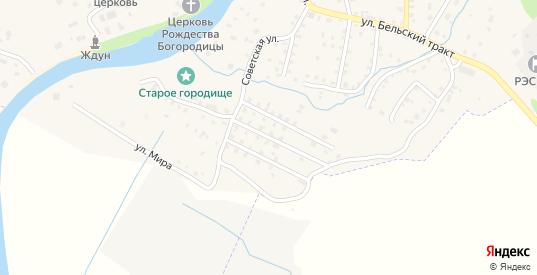 Полякова Мызы 2-й переулок в Порхове с номерами домов на карте. Спутник и схема онлайн
