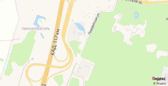 Гвардейская улица в Ломоносове с номерами домов на карте. Спутник и схема онлайн