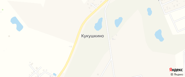 Олимпийская улица на карте деревни Кукушкино Ленинградской области с номерами домов