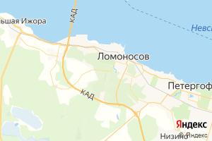 Карта г. Ломоносов Ленинградская область