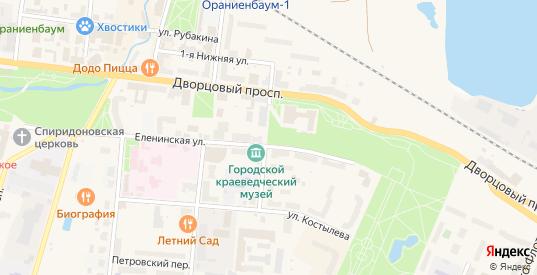 Улица Ломоносова в Ломоносове с номерами домов на карте. Спутник и схема онлайн