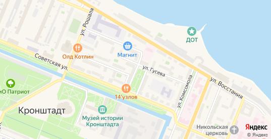Улица Осокина в Кронштадте с номерами домов на карте. Спутник и схема онлайн