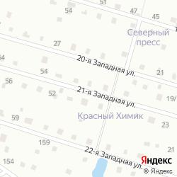 Участок с домом в СНТ «Красный Химик» в посёлке Новая Ропша на карте