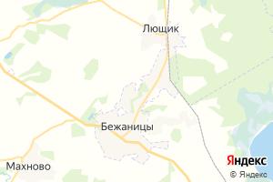 Карта пос. Бежаницы Псковская область