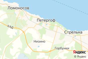 Карта г. Петергоф