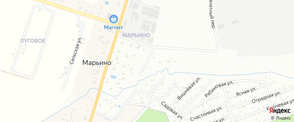 Марьинский проезд на карте Петергофа с номерами домов