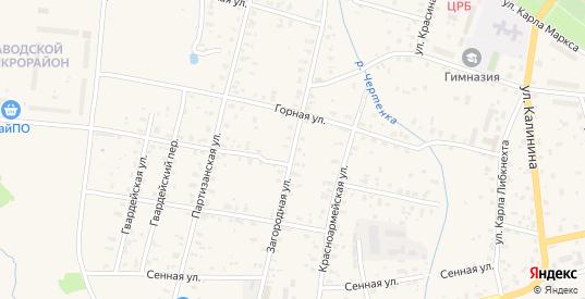 Загородная улица в Дно с номерами домов на карте. Спутник и схема онлайн
