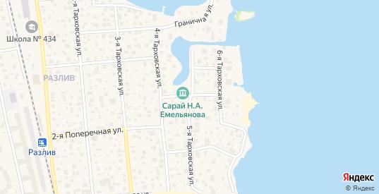 Улица Емельянова в Сестрорецке с номерами домов на карте. Спутник и схема онлайн