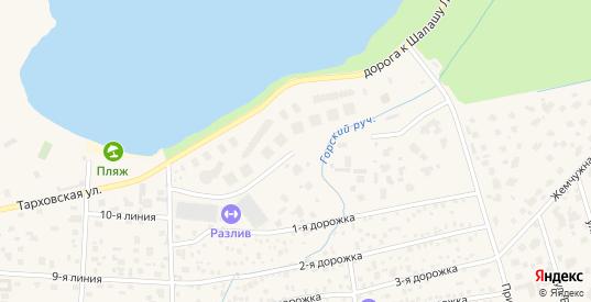 Улица Академика Вернова в Сестрорецке с номерами домов на карте. Спутник и схема онлайн