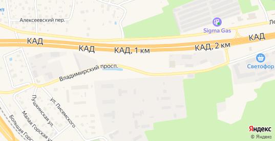 Владимирский проспект в Сестрорецке с номерами домов на карте. Спутник и схема онлайн