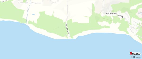 Карта поселка Песков в Ленинградской области с улицами и номерами домов