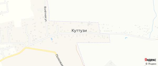Георгиевская улица на карте деревни Куттузи Ленинградской области с номерами домов