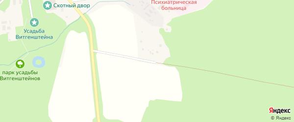 Улица Протасовка на карте поселка Дружноселья Ленинградской области с номерами домов