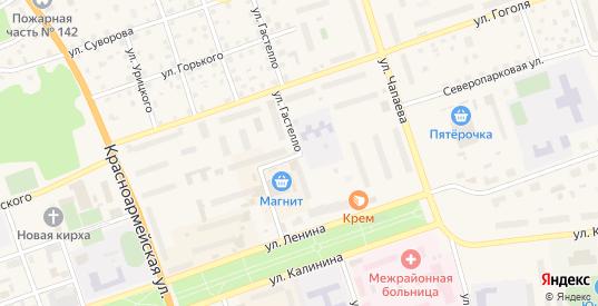 Улица Гастелло в Приозерске с номерами домов на карте. Спутник и схема онлайн