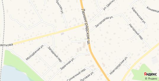 Тихий переулок в Приозерске с номерами домов на карте. Спутник и схема онлайн