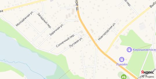 Луговая улица в Приозерске с номерами домов на карте. Спутник и схема онлайн
