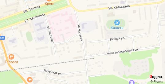 Улица Чапаева в Приозерске с номерами домов на карте. Спутник и схема онлайн