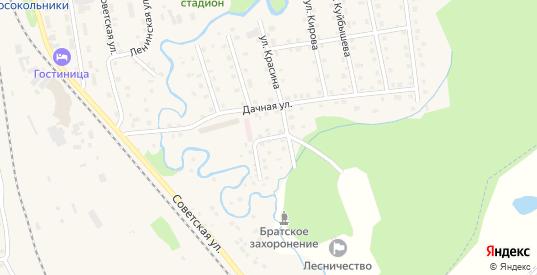 Улица Урицкого в Новосокольниках с номерами домов на карте. Спутник и схема онлайн