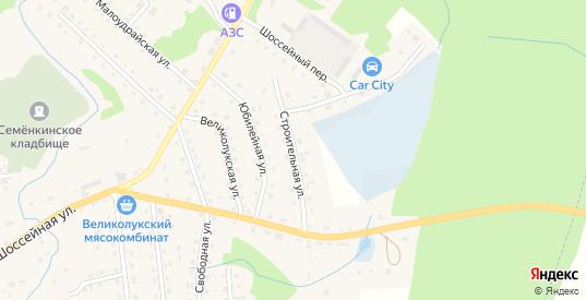 Строительная улица в Новосокольниках с номерами домов на карте. Спутник и схема онлайн