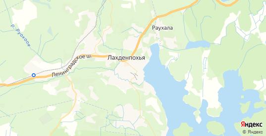 Карта Лахденпохьи с улицами и домами подробная. Показать со спутника номера домов онлайн