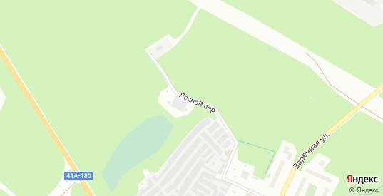 Лесной переулок в микрорайоне Сертолово-1 в Сертолово с номерами домов на карте. Спутник и схема онлайн