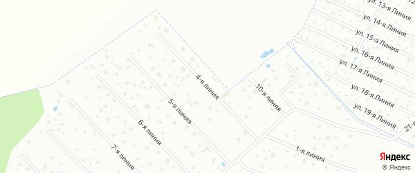 Сдт Дони 4-я линия на карте Пушкина с номерами домов