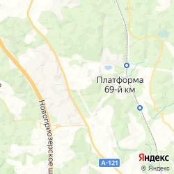 Горнолыжный курорт «Игора» на карте