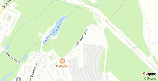 Парковый проезд в Сертолово с номерами домов на карте. Спутник и схема онлайн