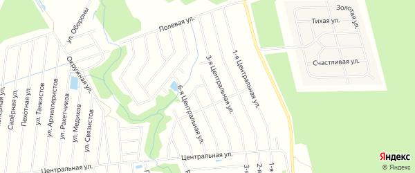 Территория днп Бриллиант на карте Всеволожского района Ленинградской области с номерами домов