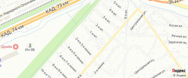 Сдт Дачное Балтийского завода 0-я линия на карте Санкт-Петербурга с номерами домов