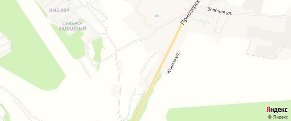 Территория ТСН Былина на карте Всеволожского района Ленинградской области с номерами домов