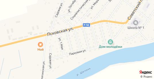 5 Советский переулок в Сольцах с номерами домов на карте. Спутник и схема онлайн