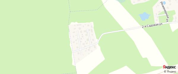 8-й садовый проезд на карте деревни Мендсар Ленинградской области с номерами домов