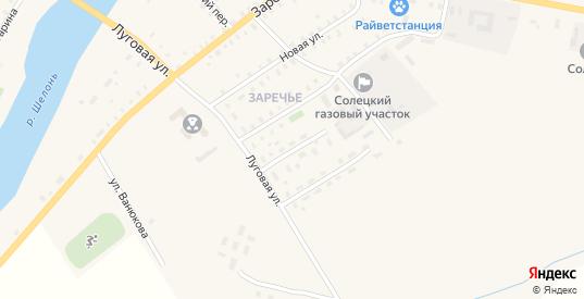 Переулок Энергетиков в Сольцах с номерами домов на карте. Спутник и схема онлайн